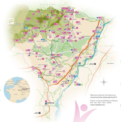 Alsace du nord office de tourisme du pays de seltz lauterbourg - Office du tourisme alsace ...