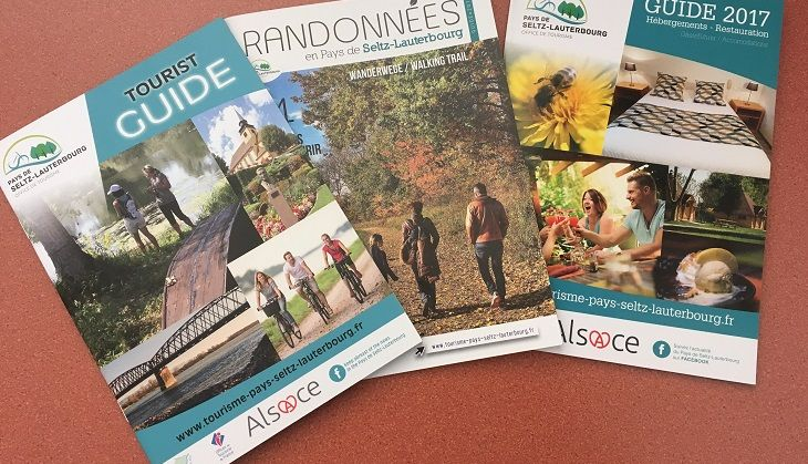 Tourist guide, accomodations, walking trail. 3 new documents to download or available in our tourist office.